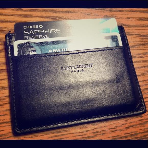 a92ba6d5d1 100% Authentic YSL Men's Card Case